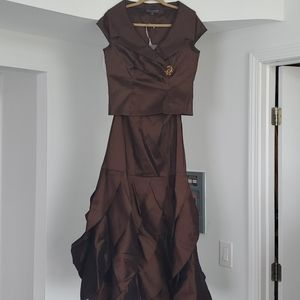 Formal two pieces dress